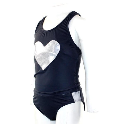 Tankini with Silver Heart