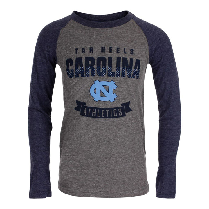 UNC Equipped Triblend Raglan