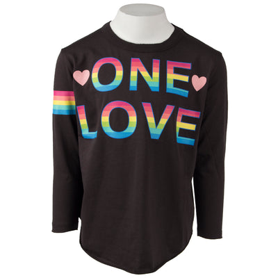 Long Sleeve Top with One Love