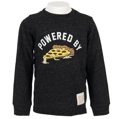 Powered By Pizza Long Sleeve Tee