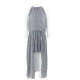 Hi Lo Maxi Dress with Shorts