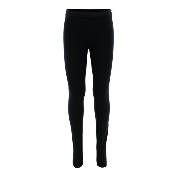 Blk Legging w Wht/Slv Star Down Leg
