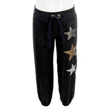 Jog Pant Black with Stars