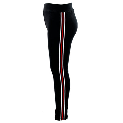 08517fad5d6bf Legging with Red Stripe Down Side