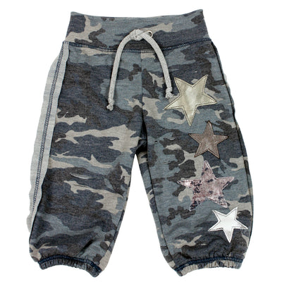 Blue Camo Sweatpant