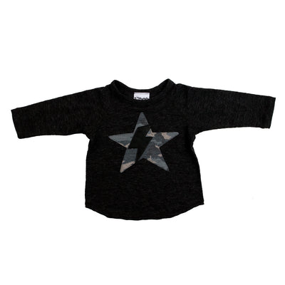 Long Sleeve Camo Star Bolt