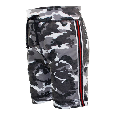 Camo Short with Stripe