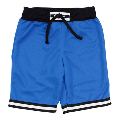 Blue Short with Stripe