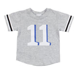 Hashtag 11 Football Tee