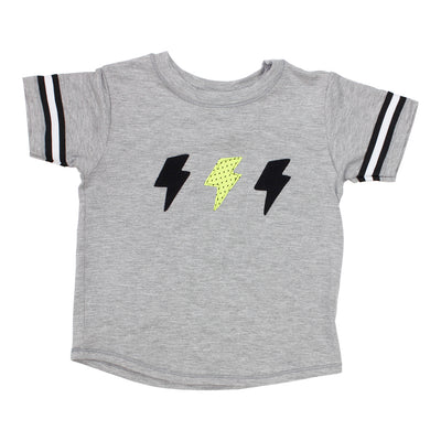 Short Sleeve Tee with Lightning Bolt