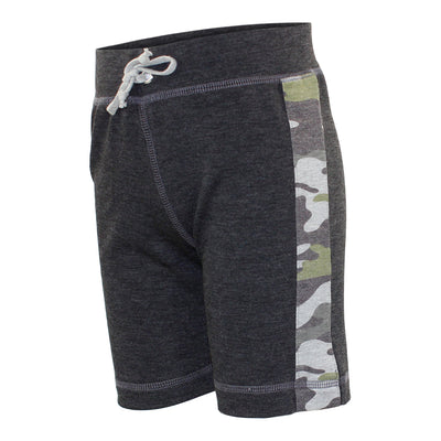 Short with Camo Side Stripe