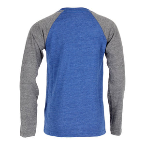 Warriors Fadeaway Tri Raglan