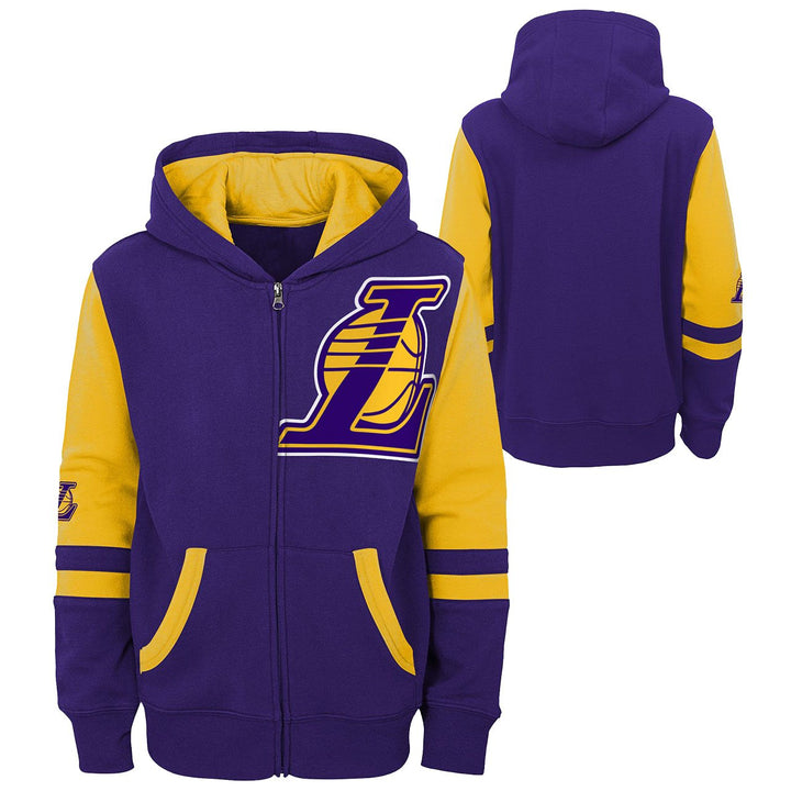 Lakers Straight To The League Zip Hoodie