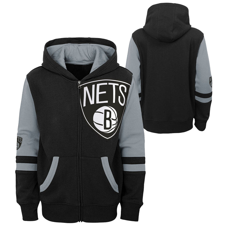 Nets Straight To The League Zip Hoodie