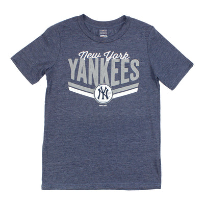 Yankees Short Stop Triblend Tee