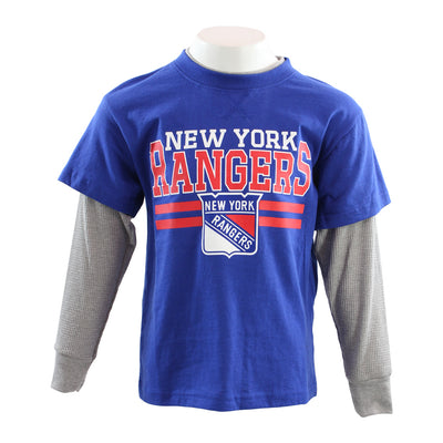 Rangers Defensive Long Sleeve Faux Layer