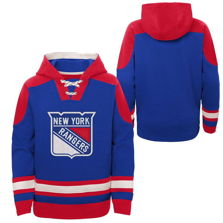 Rangers Lace Up Hoodie