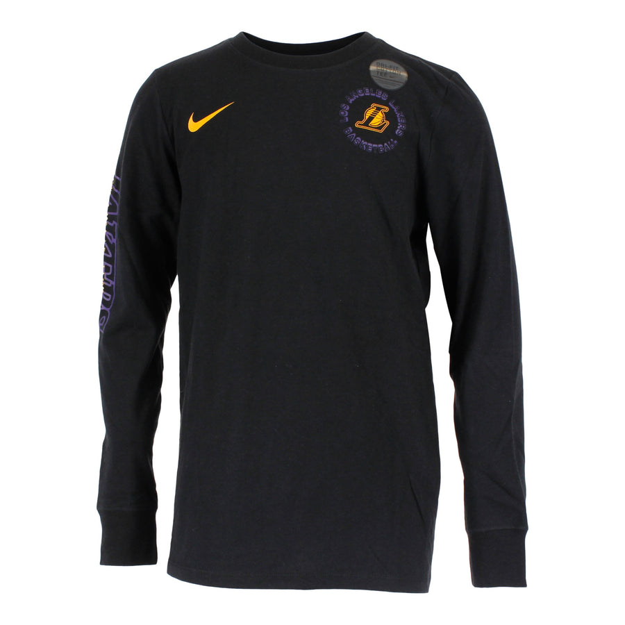 Los Angeles Lakers Logo Long Sleeve Dri-Fit Tee