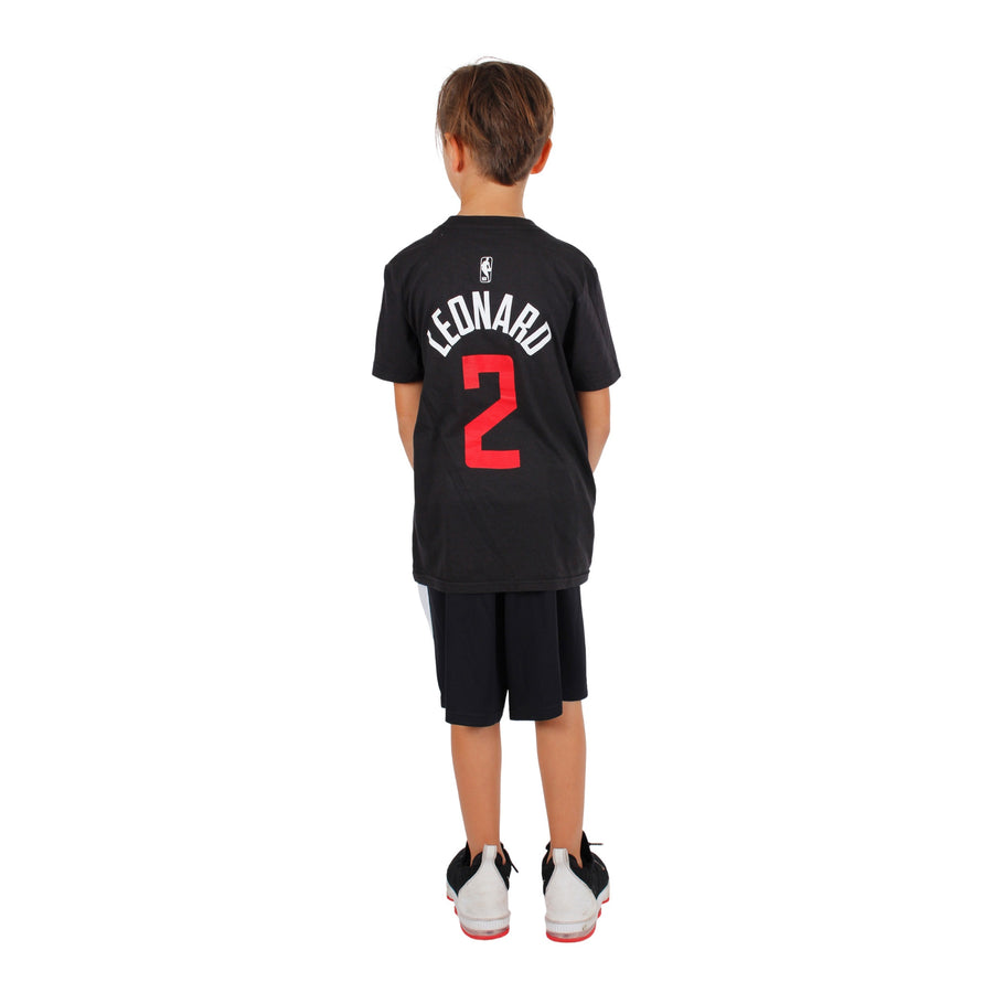 Leonard Clippers Dark Icon Tee
