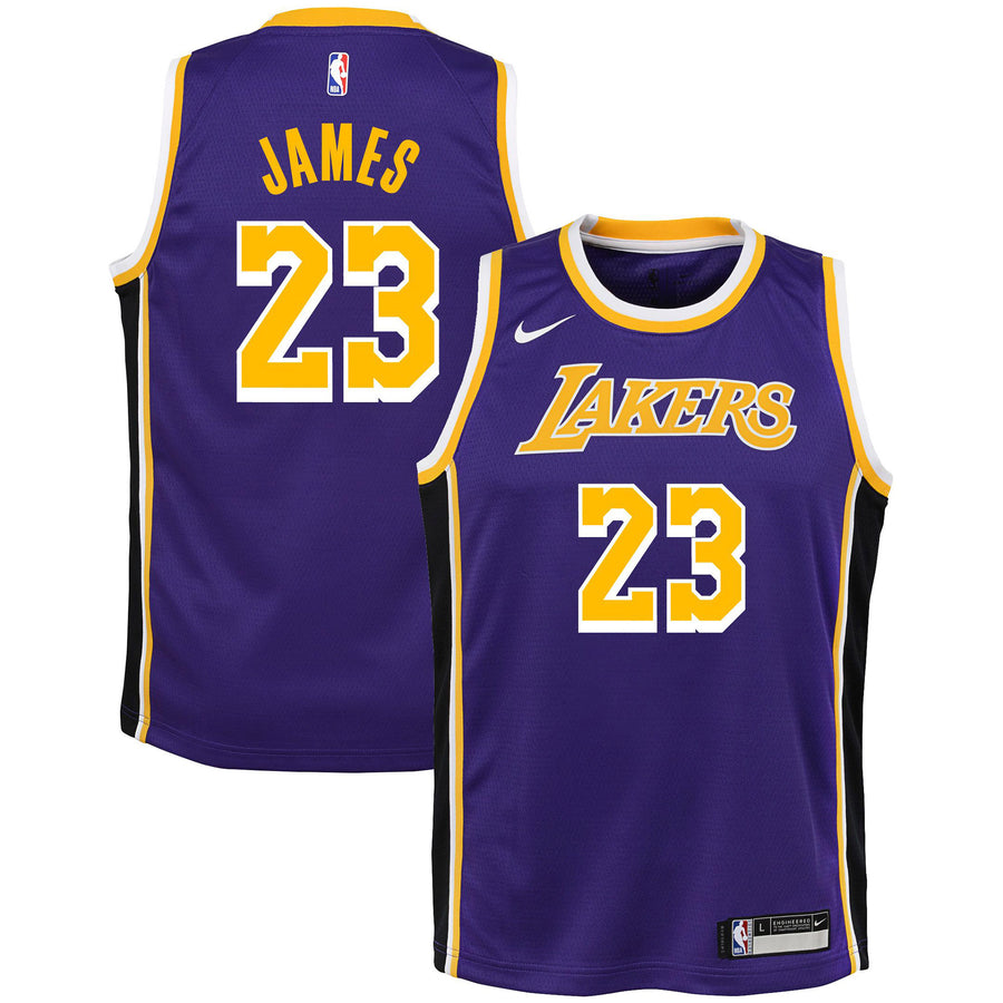 James/Lakers Rep Statement Jersey