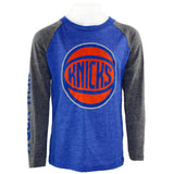 Knicks Fade Away Long Sleeve Raglan Tee