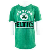 Celtics Double Bar Triblend Tee