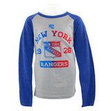 Rangers Long Sleeve Triblend Raglan