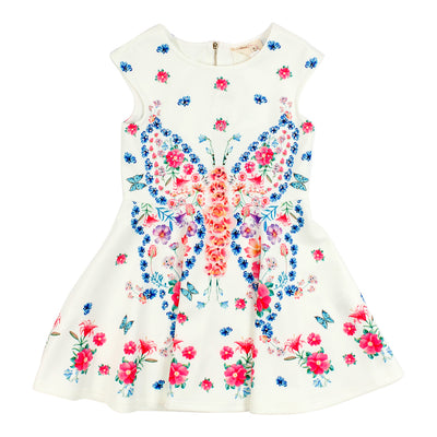 Dress with All Over Flowers