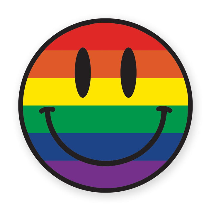 Smile Rainbow Sticker