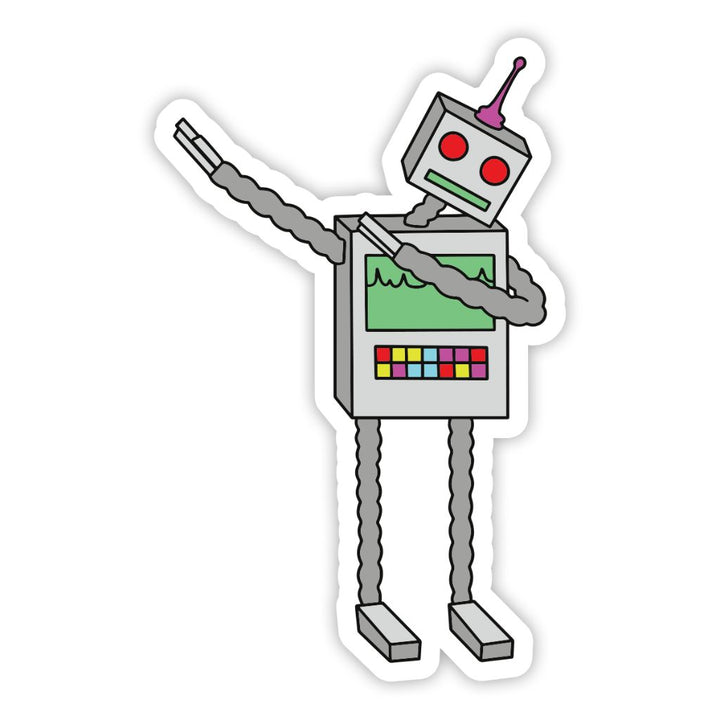 Robot DAB Sticker