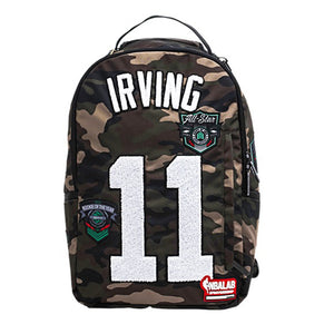 Kyrie Irving Camo Patch Backpack
