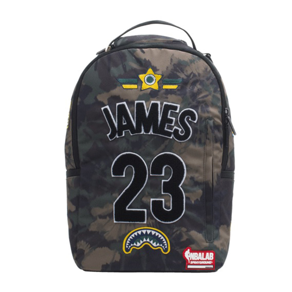 James Tie Dye Camo Patch Backpack