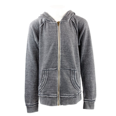 Burnout Zip Sweatshirt