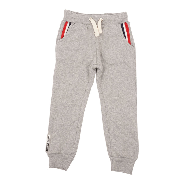 Jogger with Rib Stripe