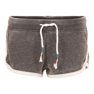 Burnout Track Short with Colorful Tie String
