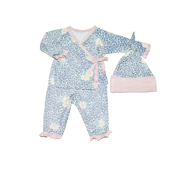 3 Piece Wrap Set Jungle Floral