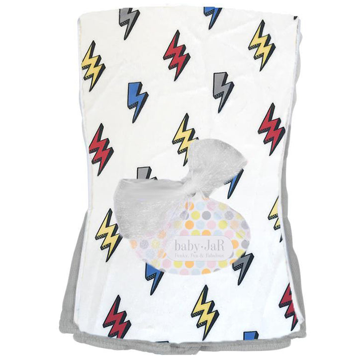 Lightning Bolt Burp Cloth