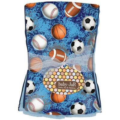 Multi Sport Burp Cloth