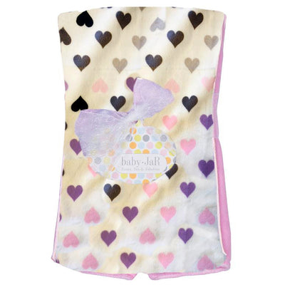 Chromatic Hearts Burp Cloth
