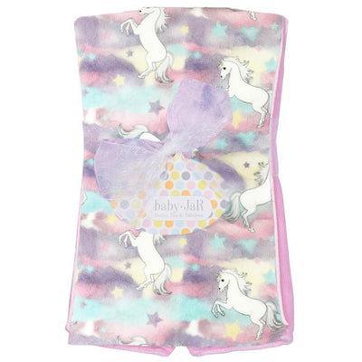 Pastel Unicorn Burp Cloth