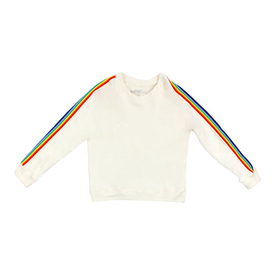 Sweatshirt Rainbow Stripe