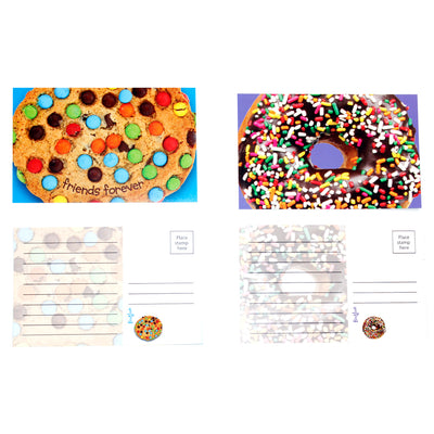 Cookie/Donut Postcard