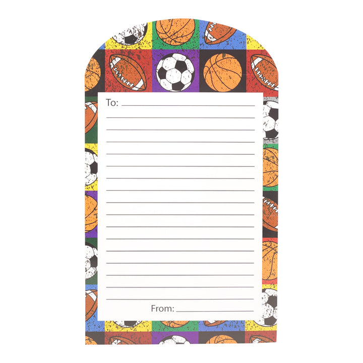 Lined Boys Sports Stationary