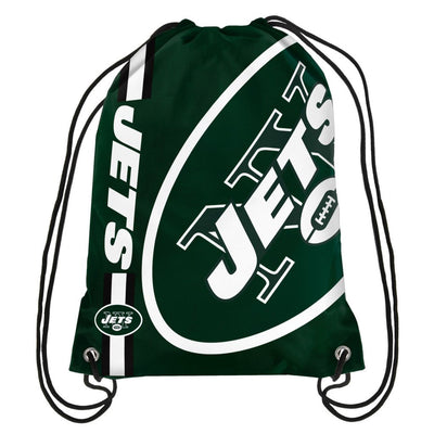 Jets Big Logo Drawstring Bag