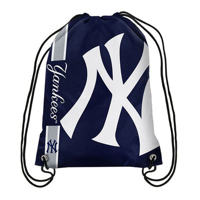 Yankees Big Logo Drawstring Bag