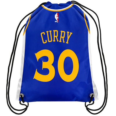 Curry Player Drawstring Bag