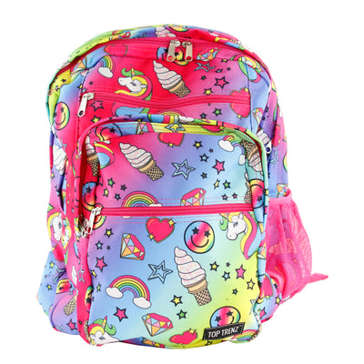 Unicorn Fantasy Backpack 5 Zipper