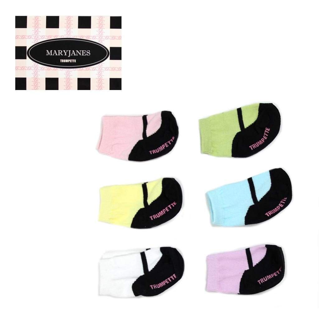 Box Pastel Mary Janes