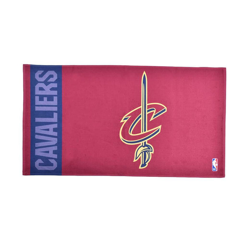 Cavaliers On Court Bench Towel