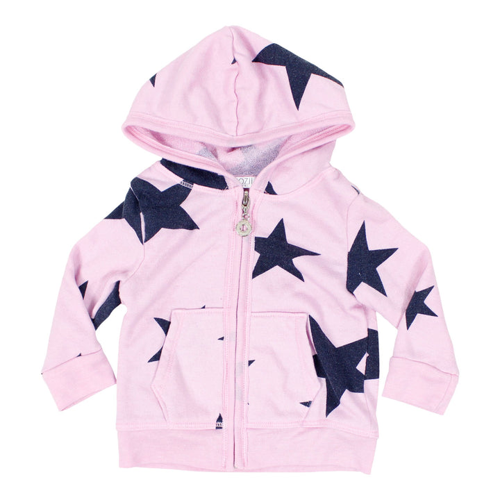 Terry Hoody with Stars